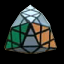 Tetra pyramid / aXe cube
